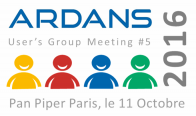 AUGM ou Ardans Users\' Group Meeting 2016