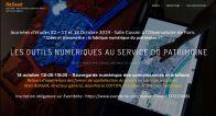 18 Octobre Conférence \'Sauvegarde numérique des connaissances et artefacts\' - Journées d\'études Reseed